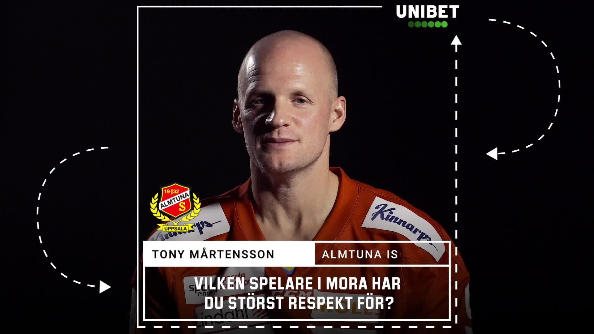 Tony Mårtensson inför Mora