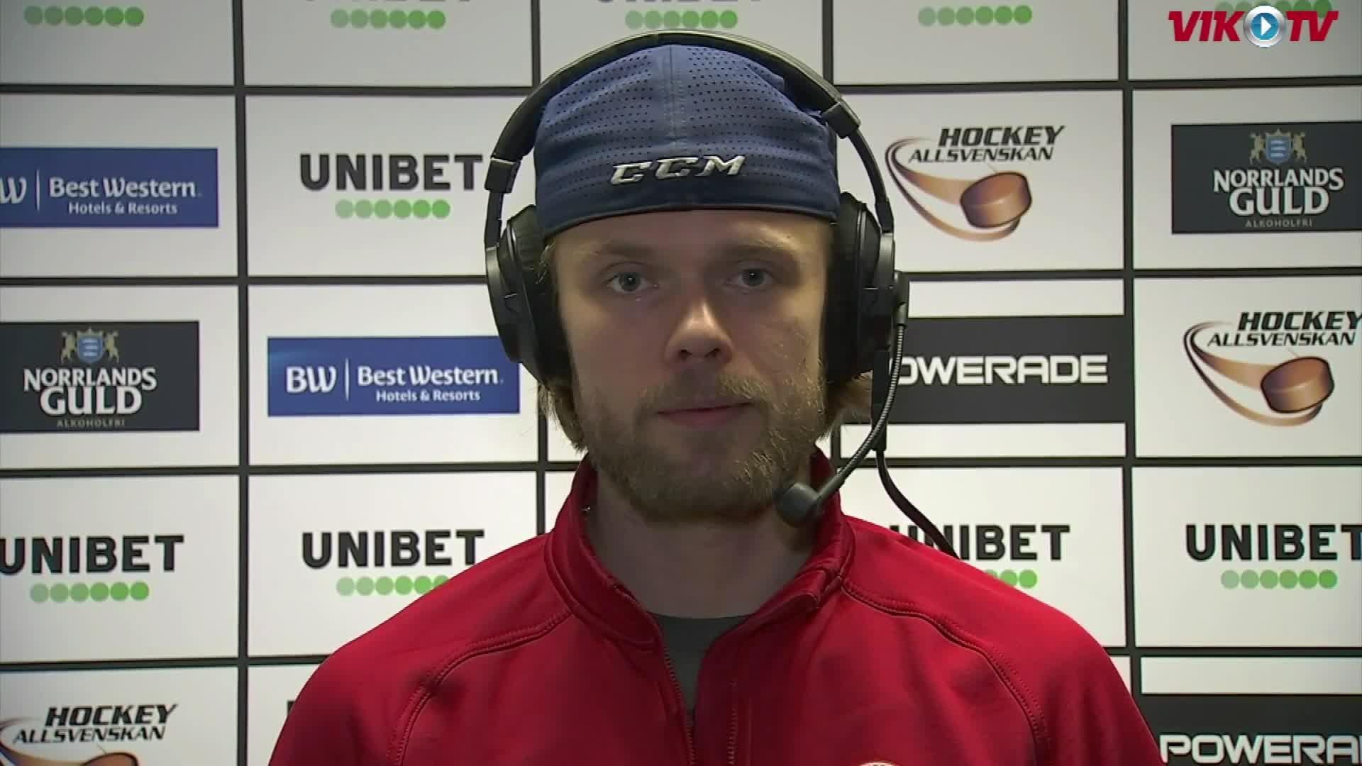 VIK-TV: C More-intervju med Erik Ullman inför MODO borta