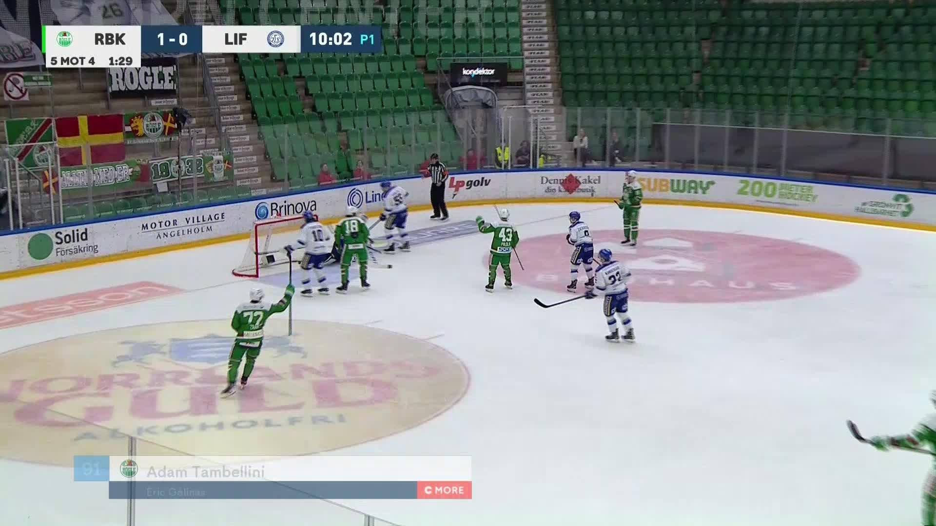 Rögle BK - Leksands IF 2-0