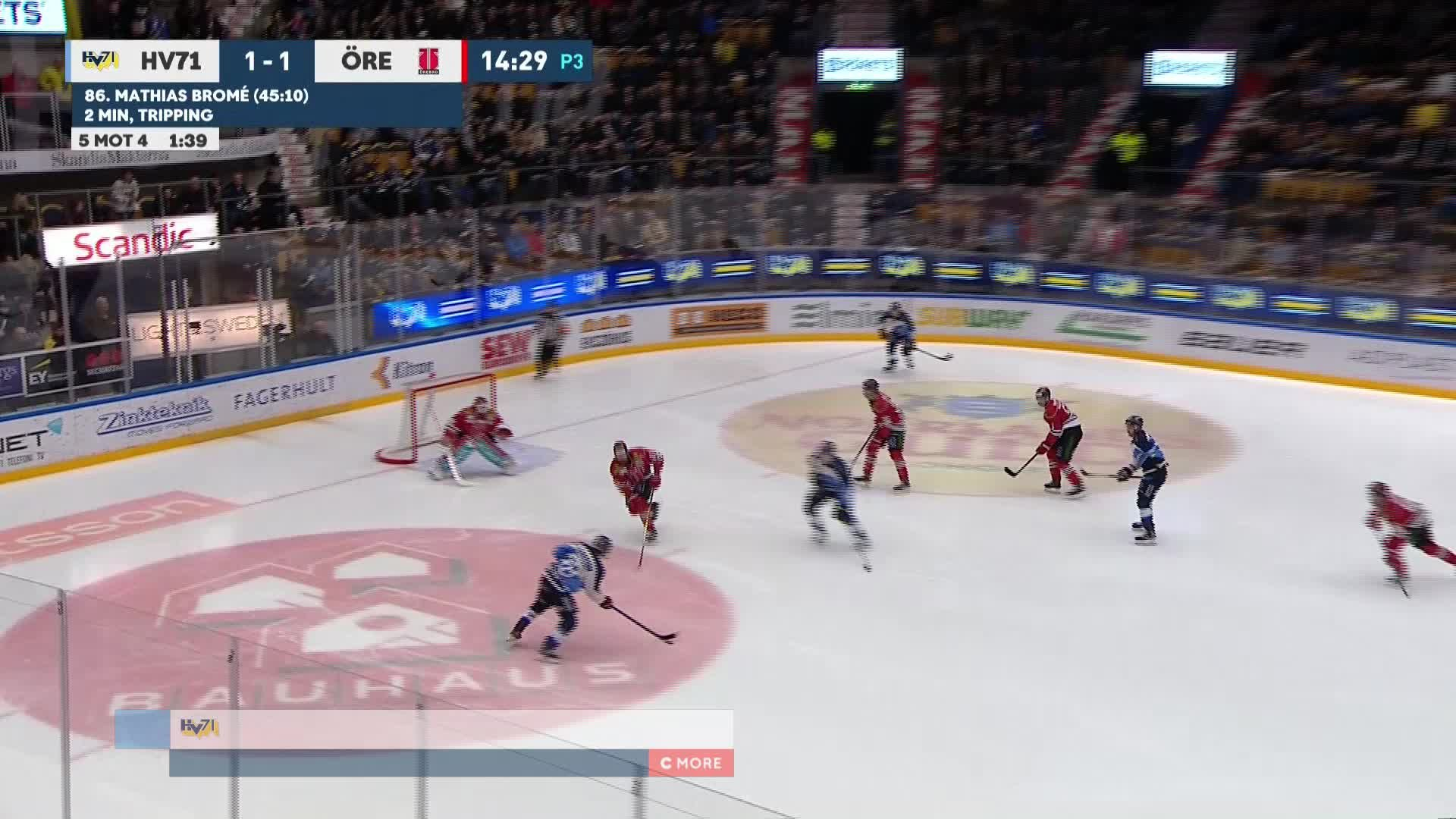 HV71 - Örebro Hockey 2-1
