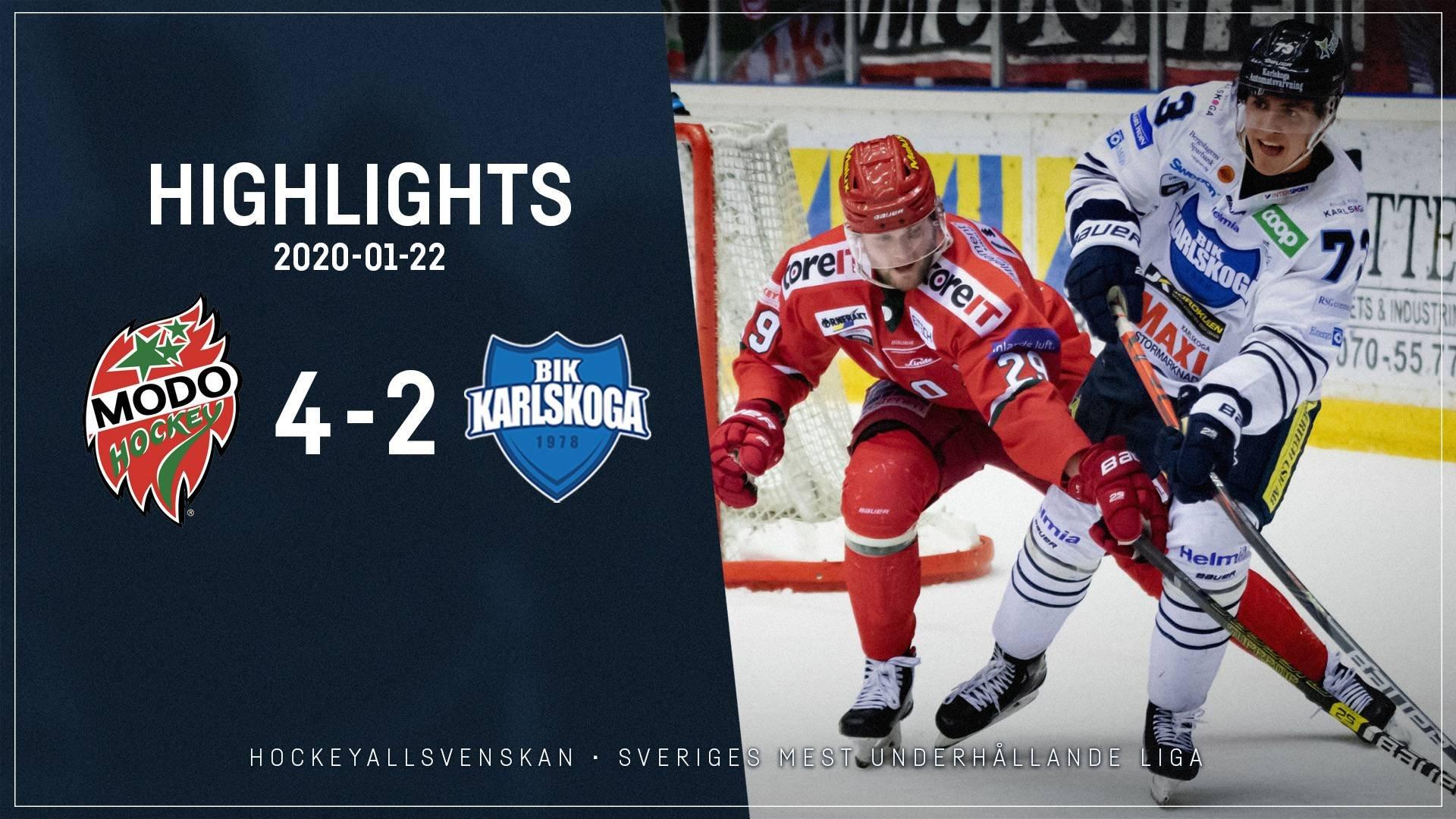 2020-01-22 MODO - Karlskoga 4-2