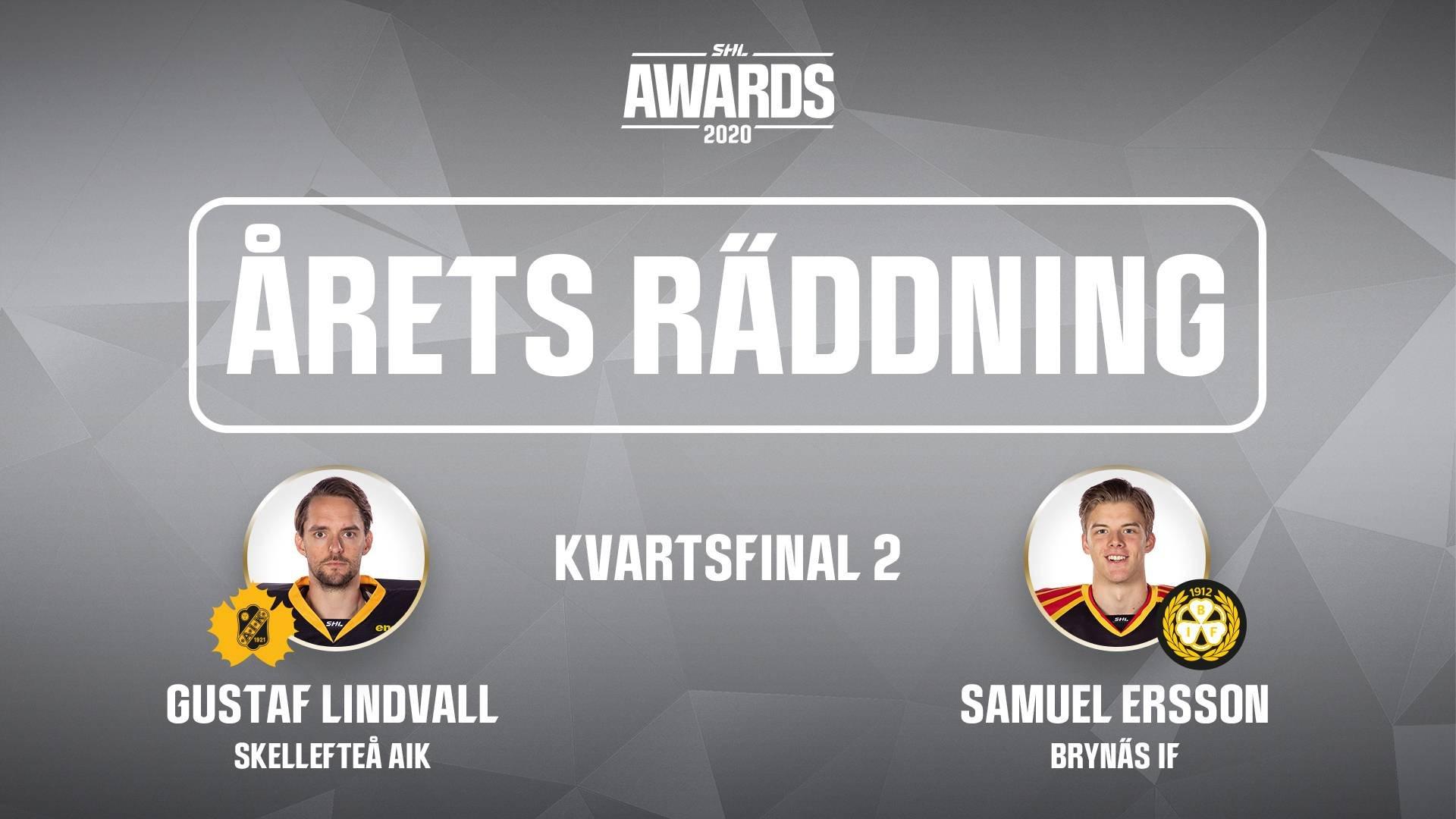 Årets räddning 2019/2020 - Kvartsfinal 2