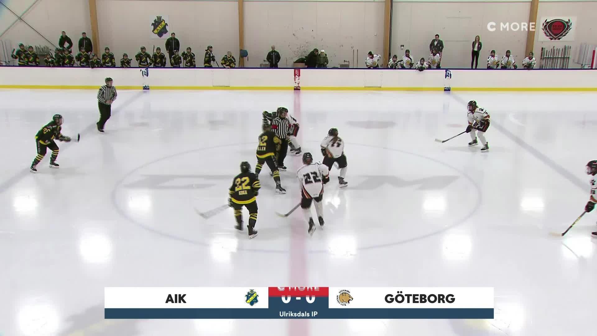 Highlights AIK-Göteborg 1 februari