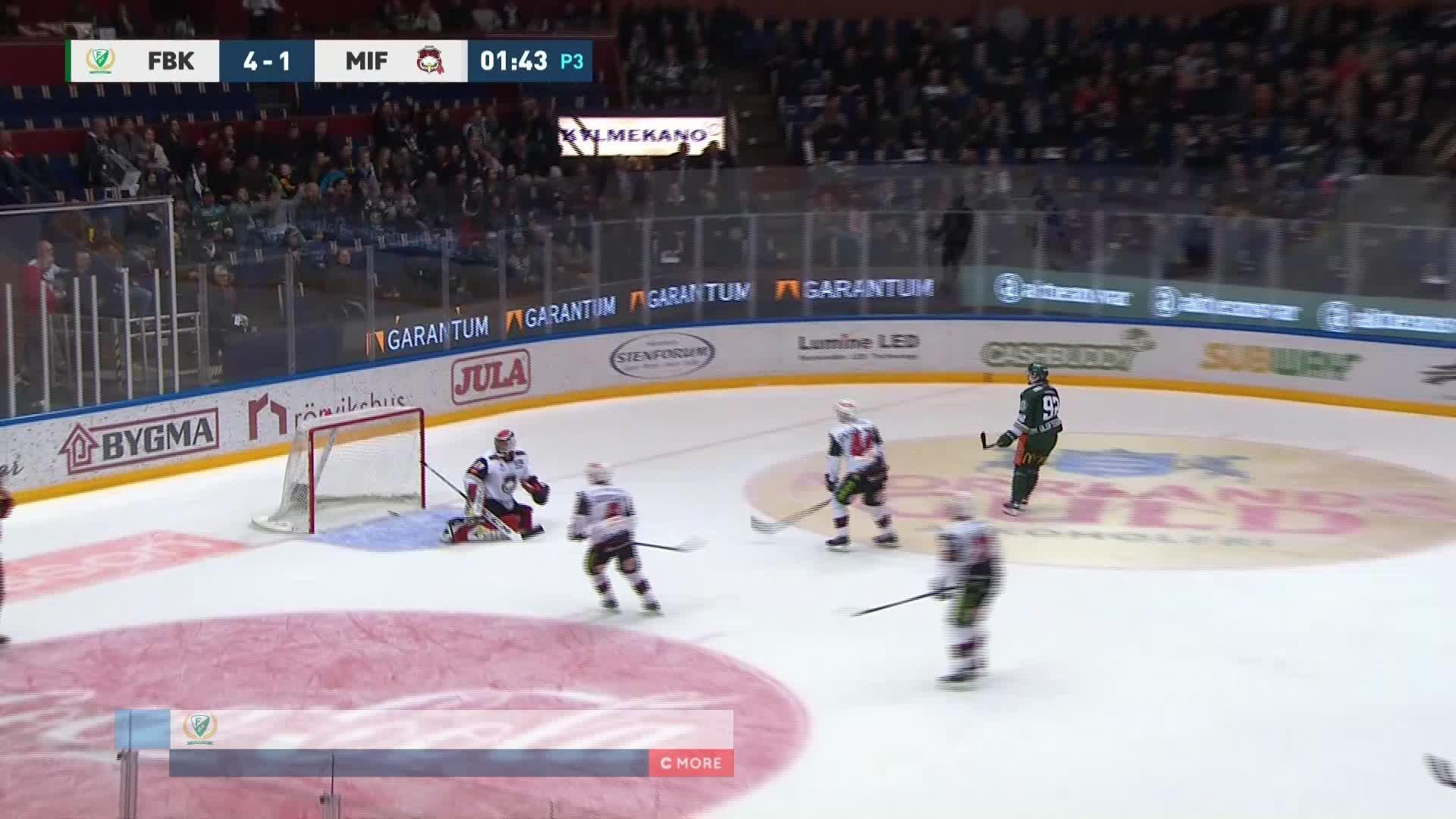Färjestad BK - Malmö Redhawks 5-1