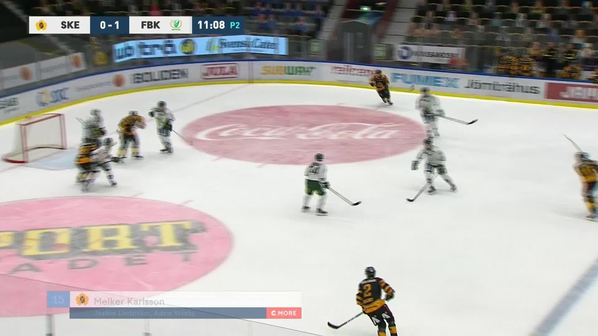 Skellefteå AIK - Färjestad BK 1-1