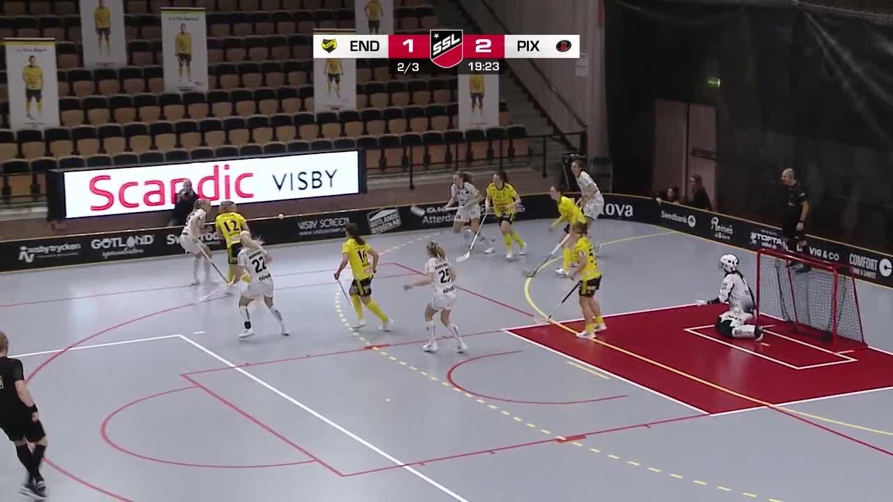 Highlights: Endre IF-Pixbo Wallenstam IBK
