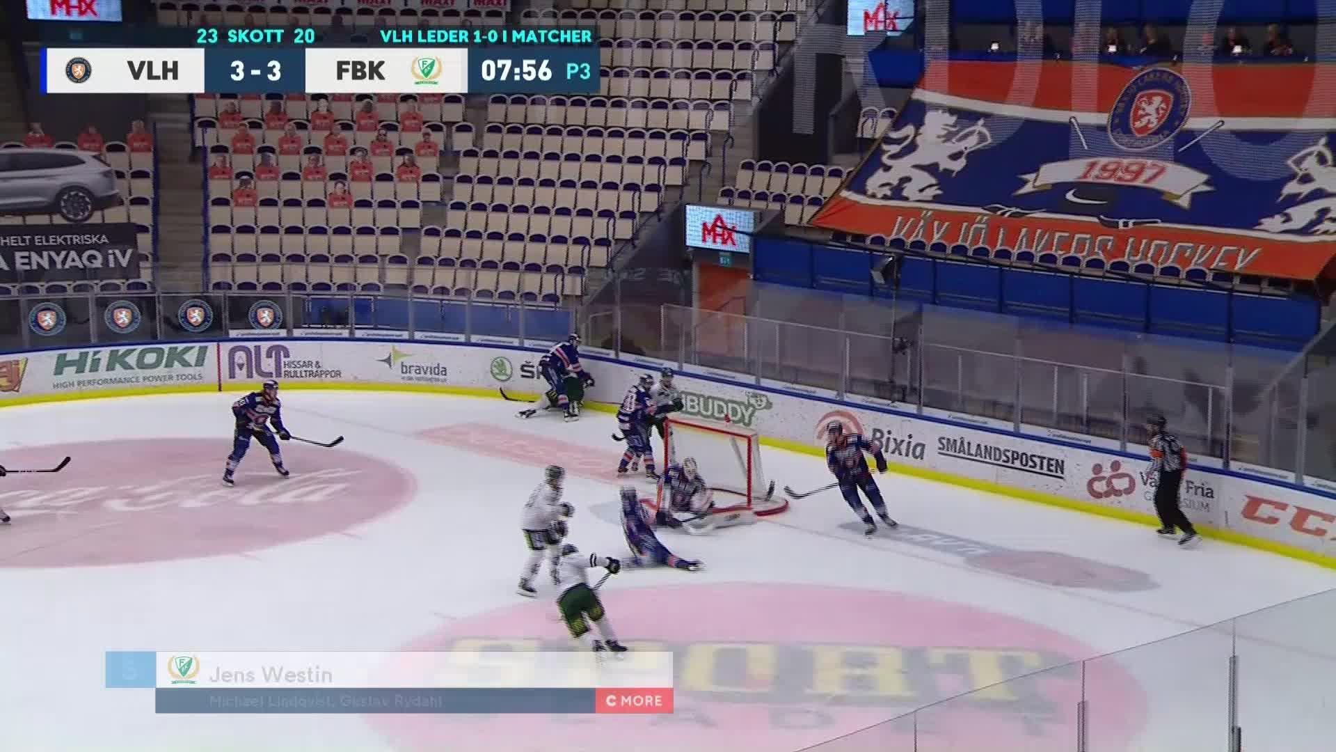 Växjö Lakers - Färjestad BK 3-4