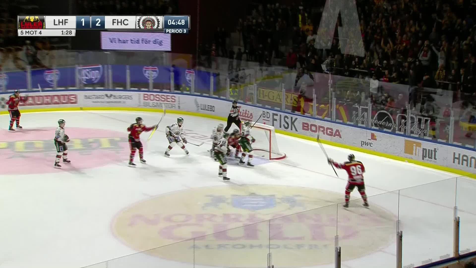 Luleå Hockey - Frölunda HC 2-2
