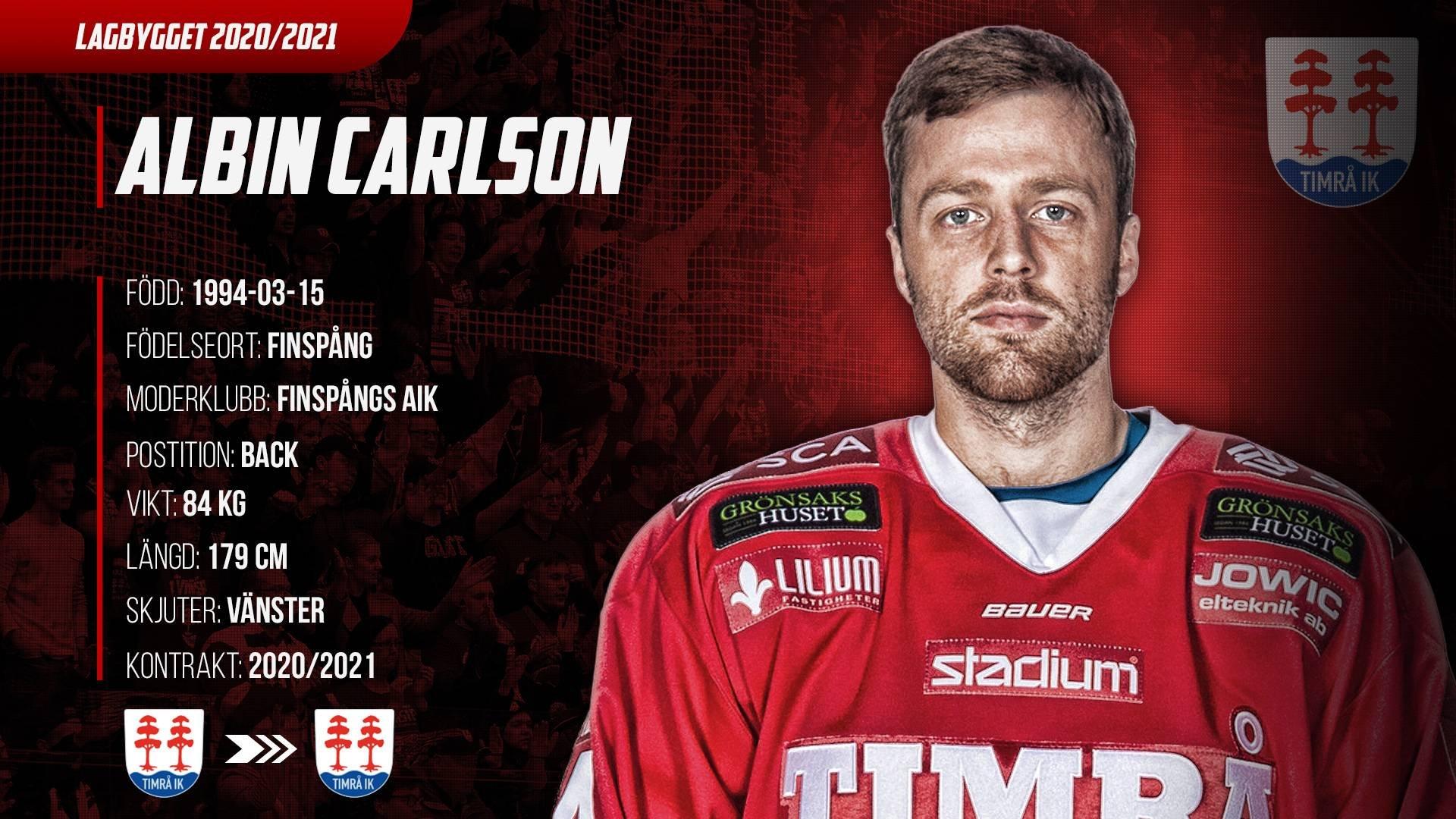 Albin Carlson highlights