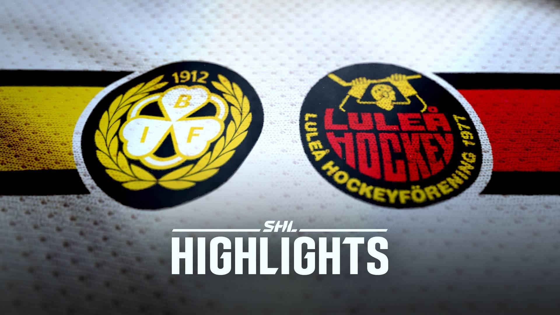 Brynäs IF - Luleå Hockey