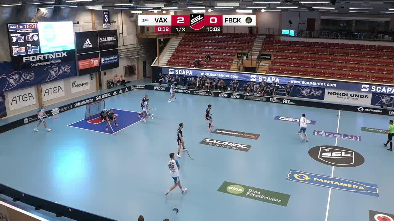 Highlights: Växjö Vipers - FBC Kalmarsund