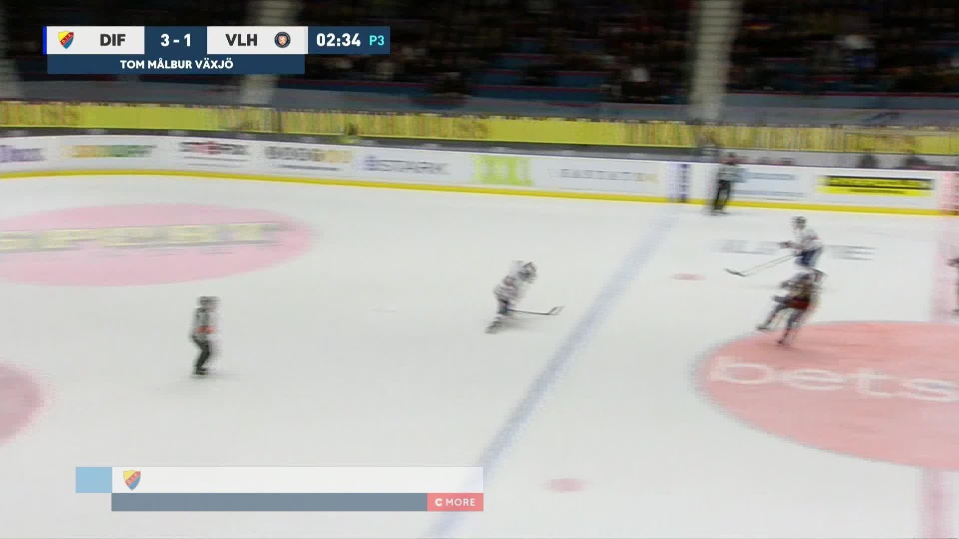 Djurgården Hockey - Växjö Lakers 4-1
