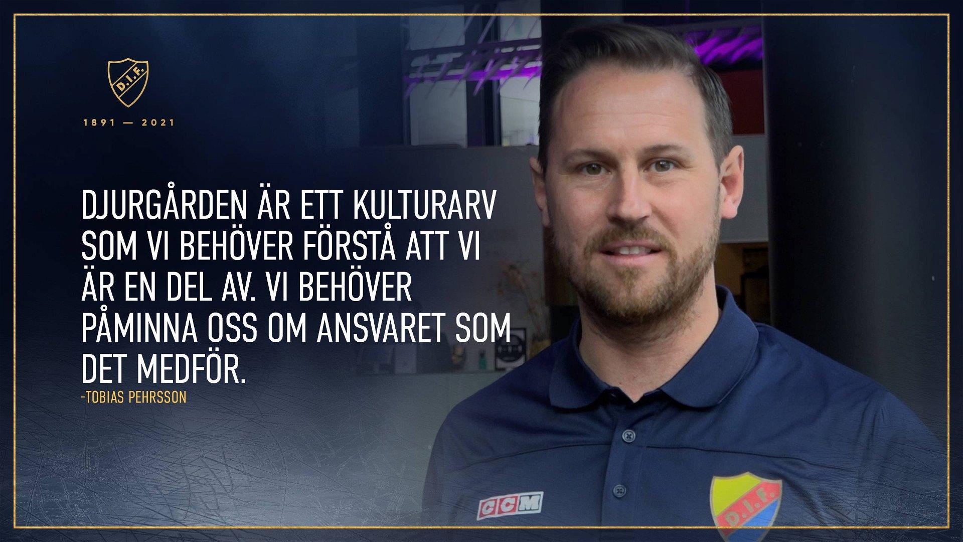 Tobias Pehrsson berättar om de inledande dagarna