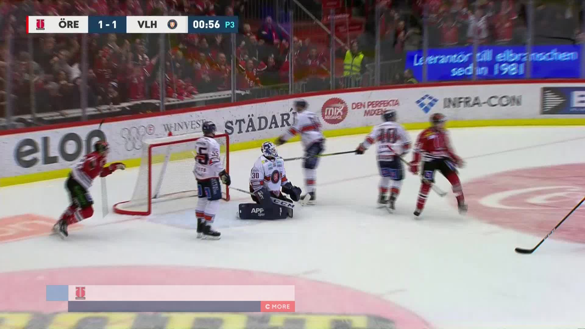 Örebro Hockey - Växjö Lakers 2-1