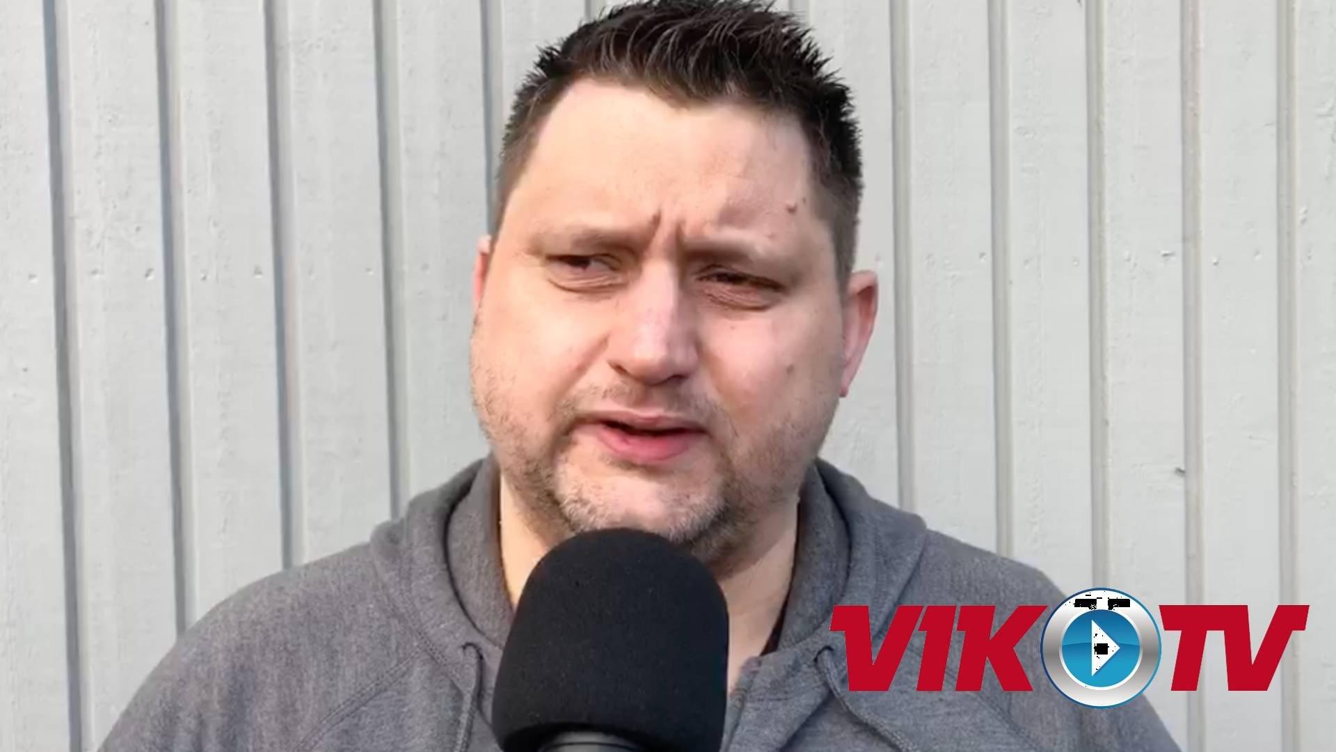 Intervju med Karlin inför mötet med Modo