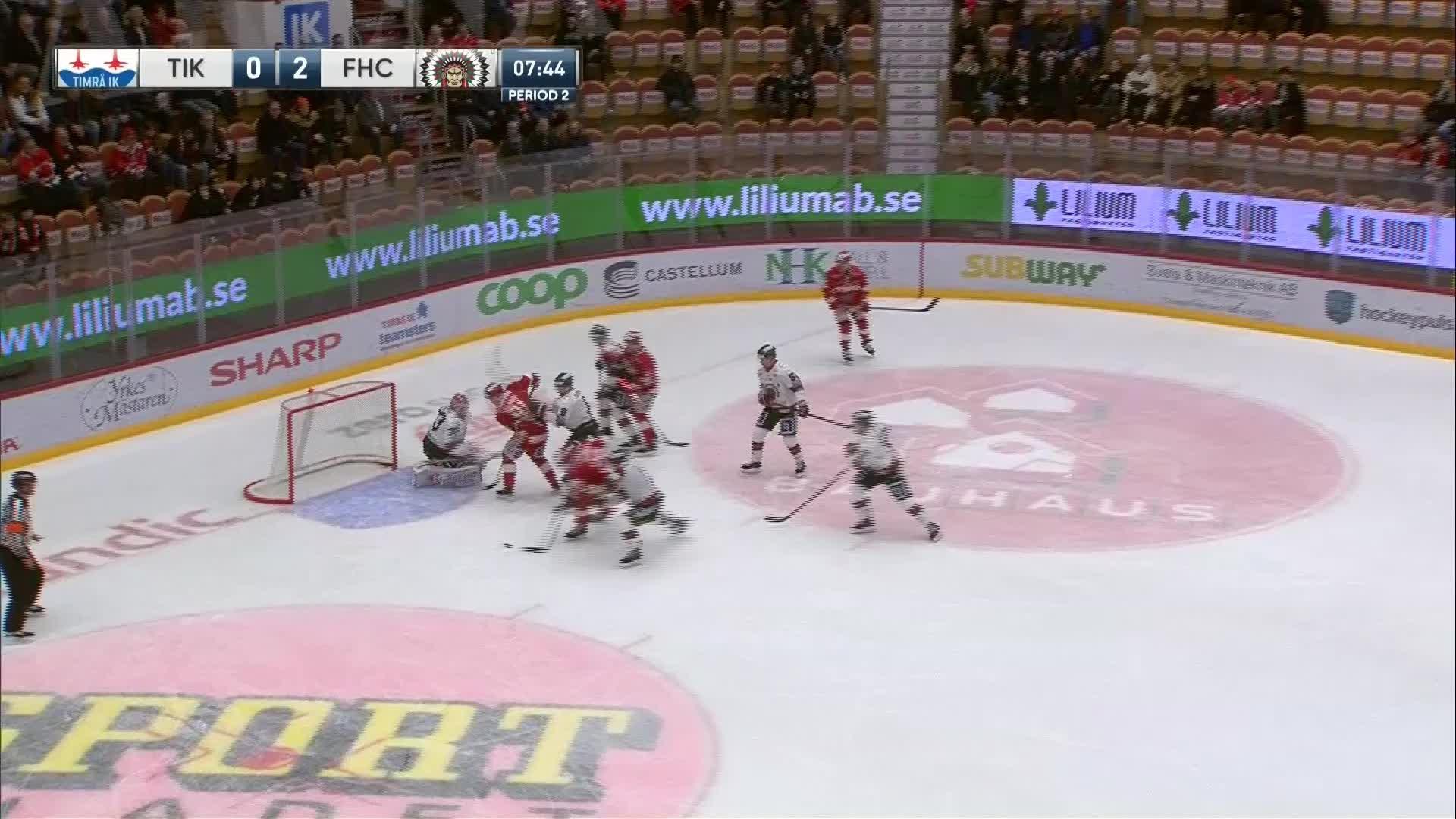Timrå IK - Frölunda HC 1-2