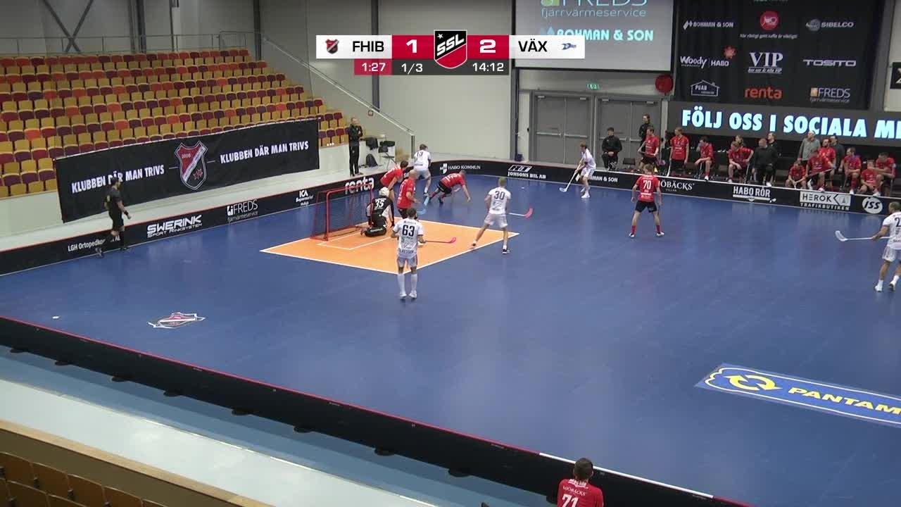 Highlights: Fagerhult Habo IB - Växjö Vipers