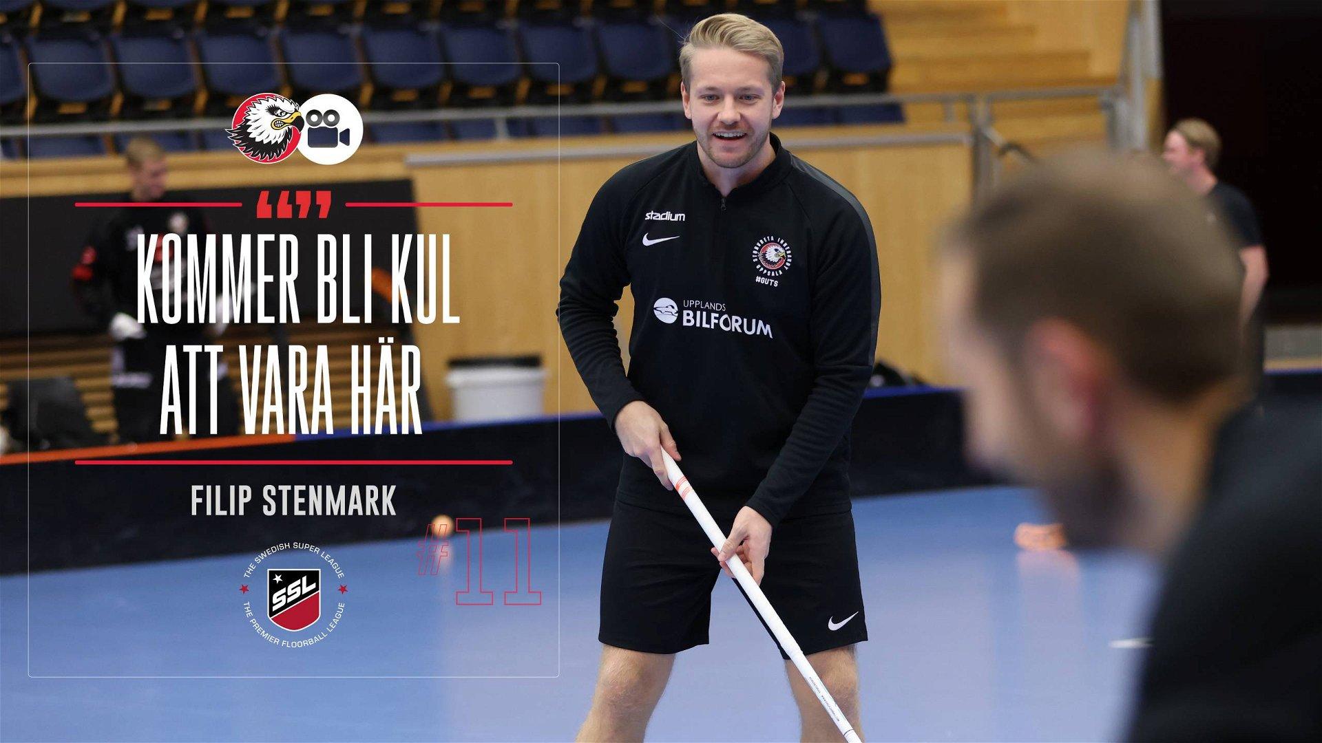 """Filip Stenmark """"Jävligt kul match"""""""