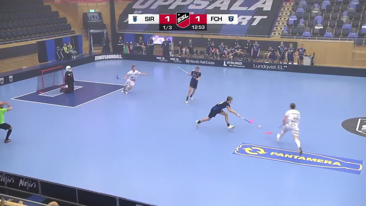 Highlights: IK Sirius IBK - FC Helsingborg