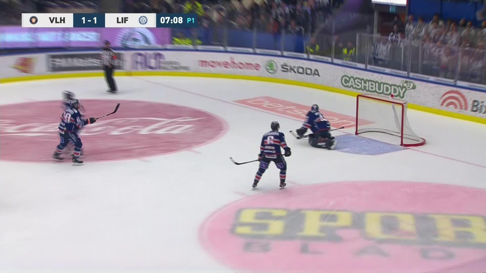Växjö Lakers - Leksands IF 1-2