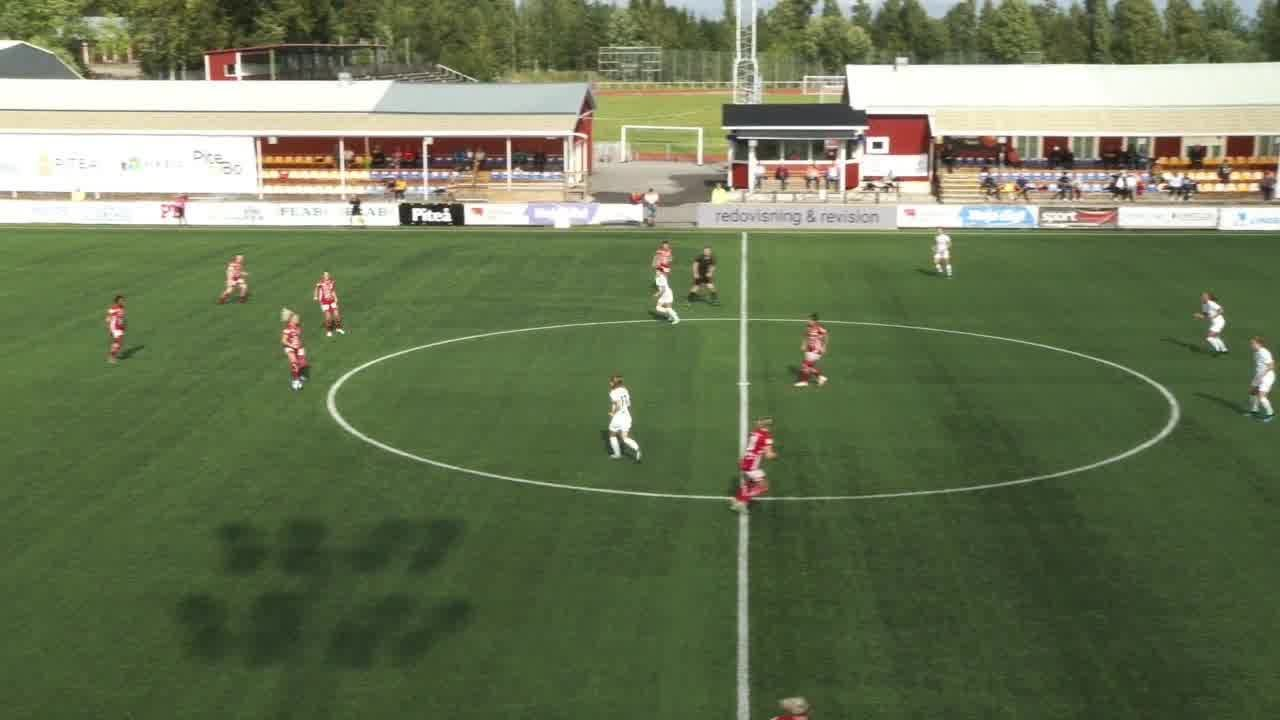 Highlights: Piteå - Umeå 22 aug