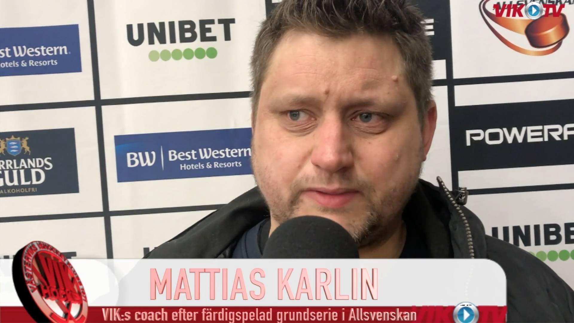 VIK-TV: Karlin och Westfält summerar grundserien och ser fram mot slutspel