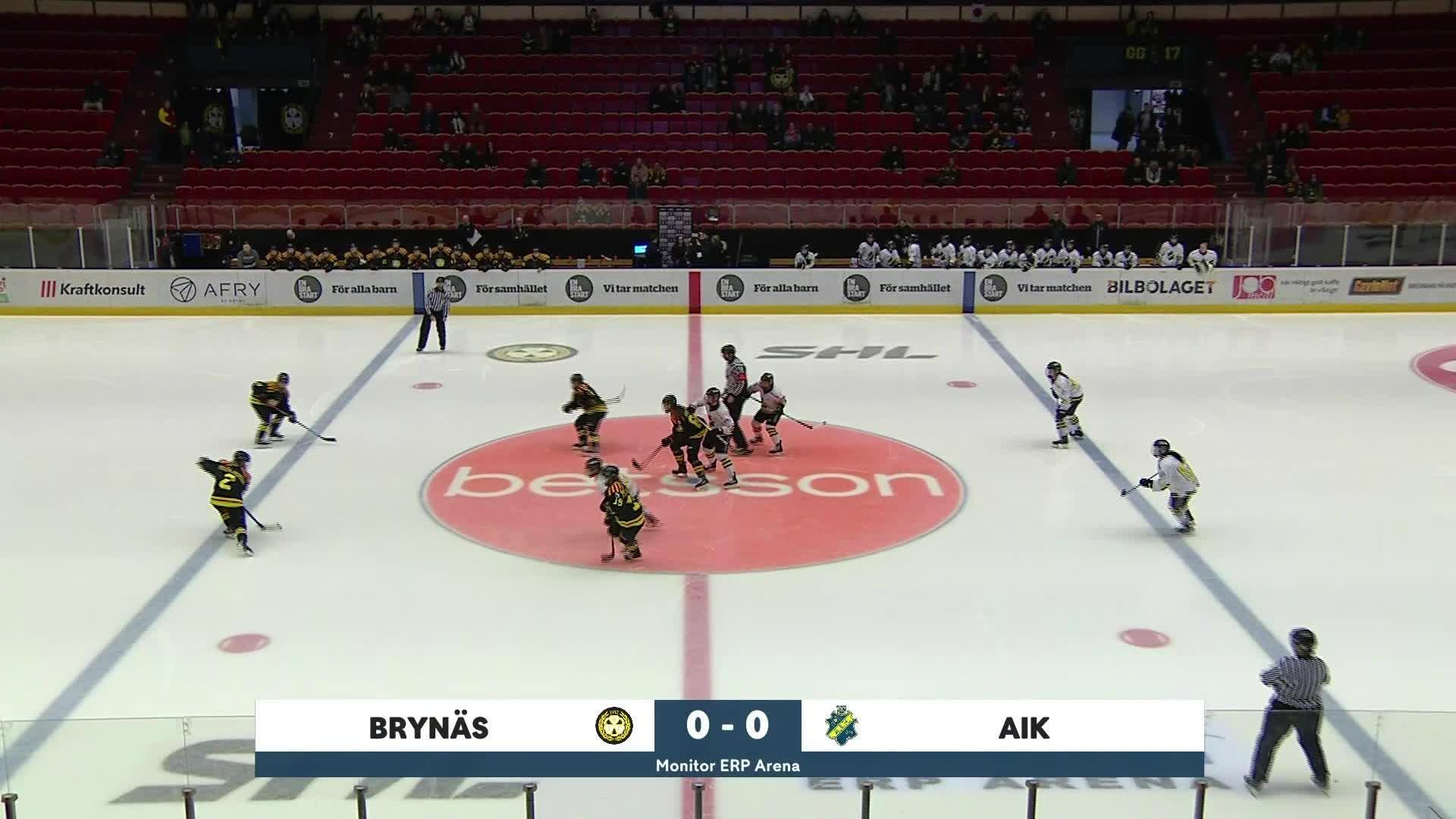 Highlights Brynäs-AIK 15 februari