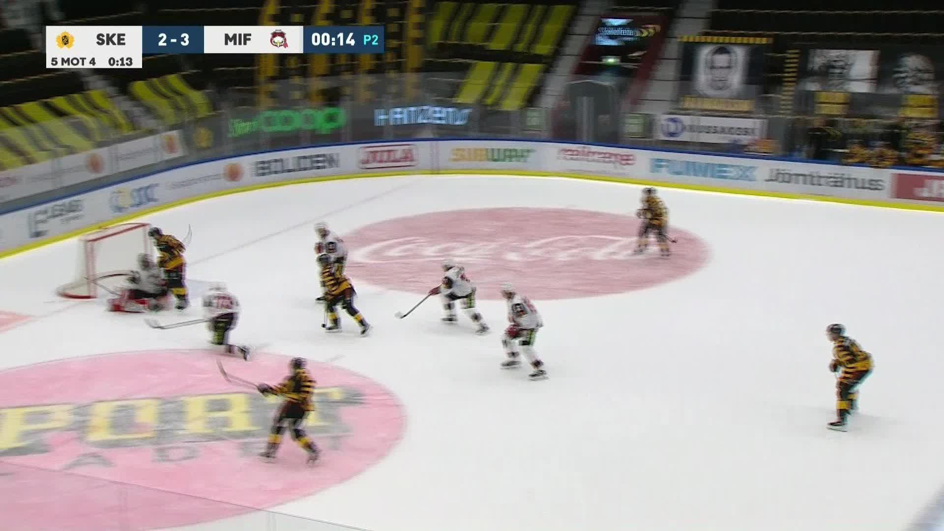 Skellefteå AIK - Malmö Redhawks 3-3