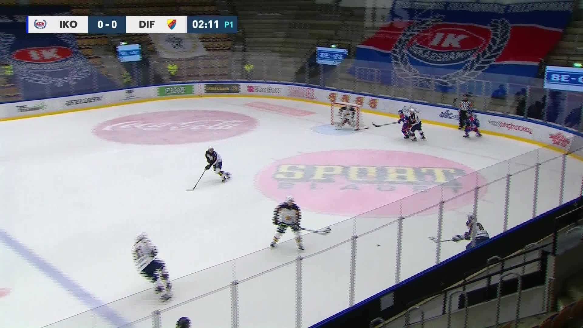 IK Oskarshamn - Djurgården Hockey 0-1