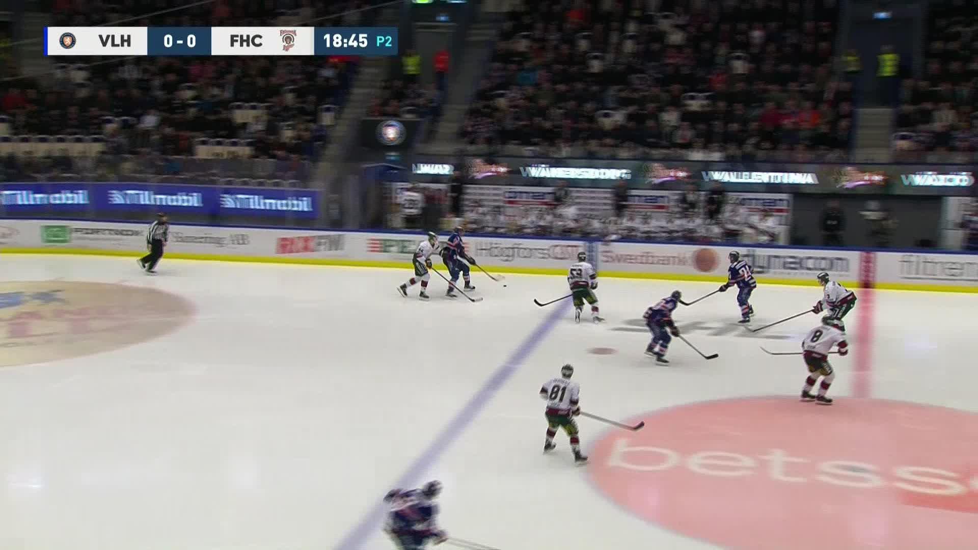 Växjö Lakers - Frölunda HC 1-0