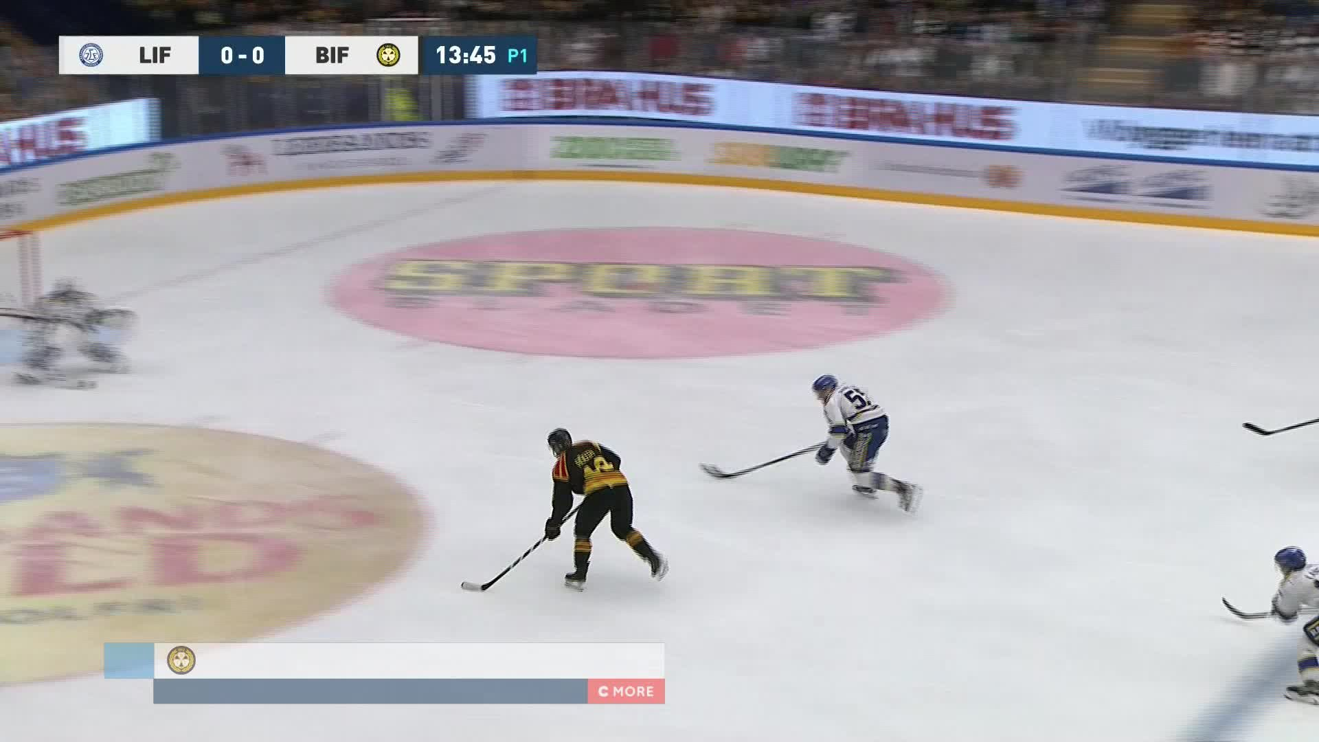 Leksands IF - Brynäs IF 0-1