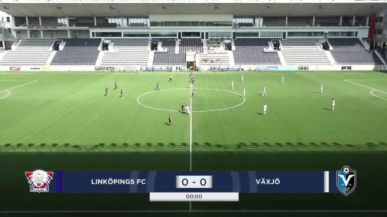 Highlights: Linköping - Växjö DFF 27 juni