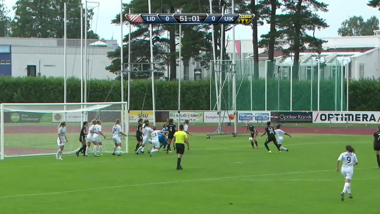 Highlights: Lidköpings FK-Umeå IK