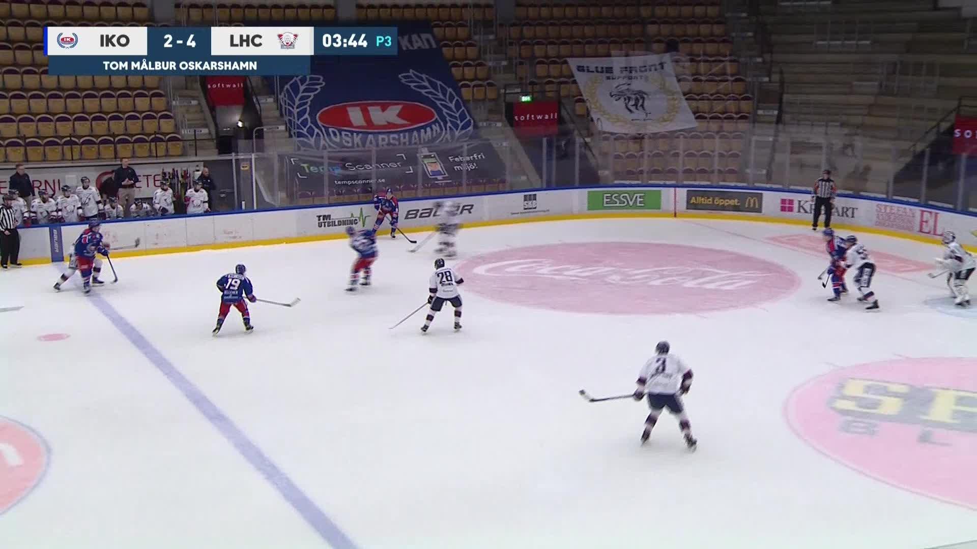 IK Oskarshamn - Linköping HC 2-5