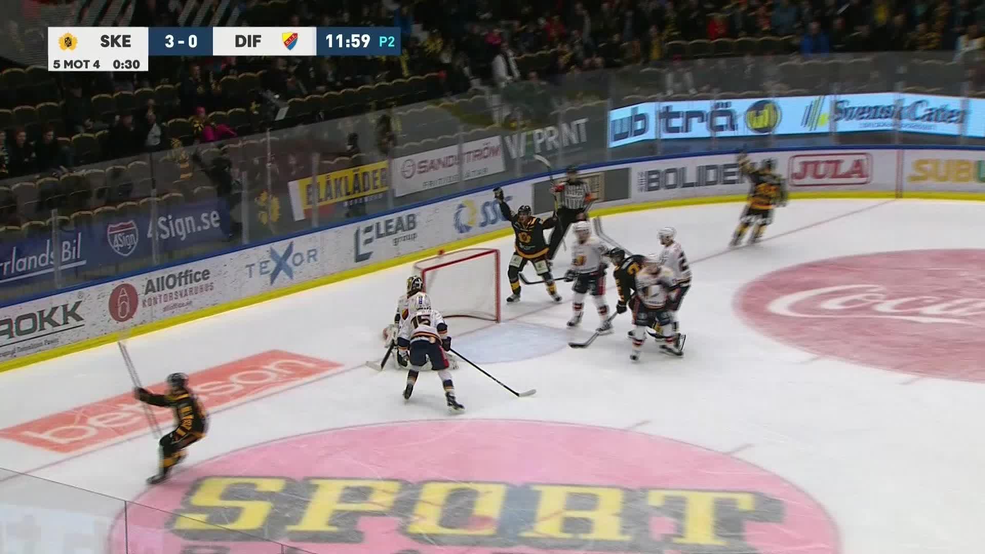 Skellefteå AIK - Djurgården Hockey 4-0