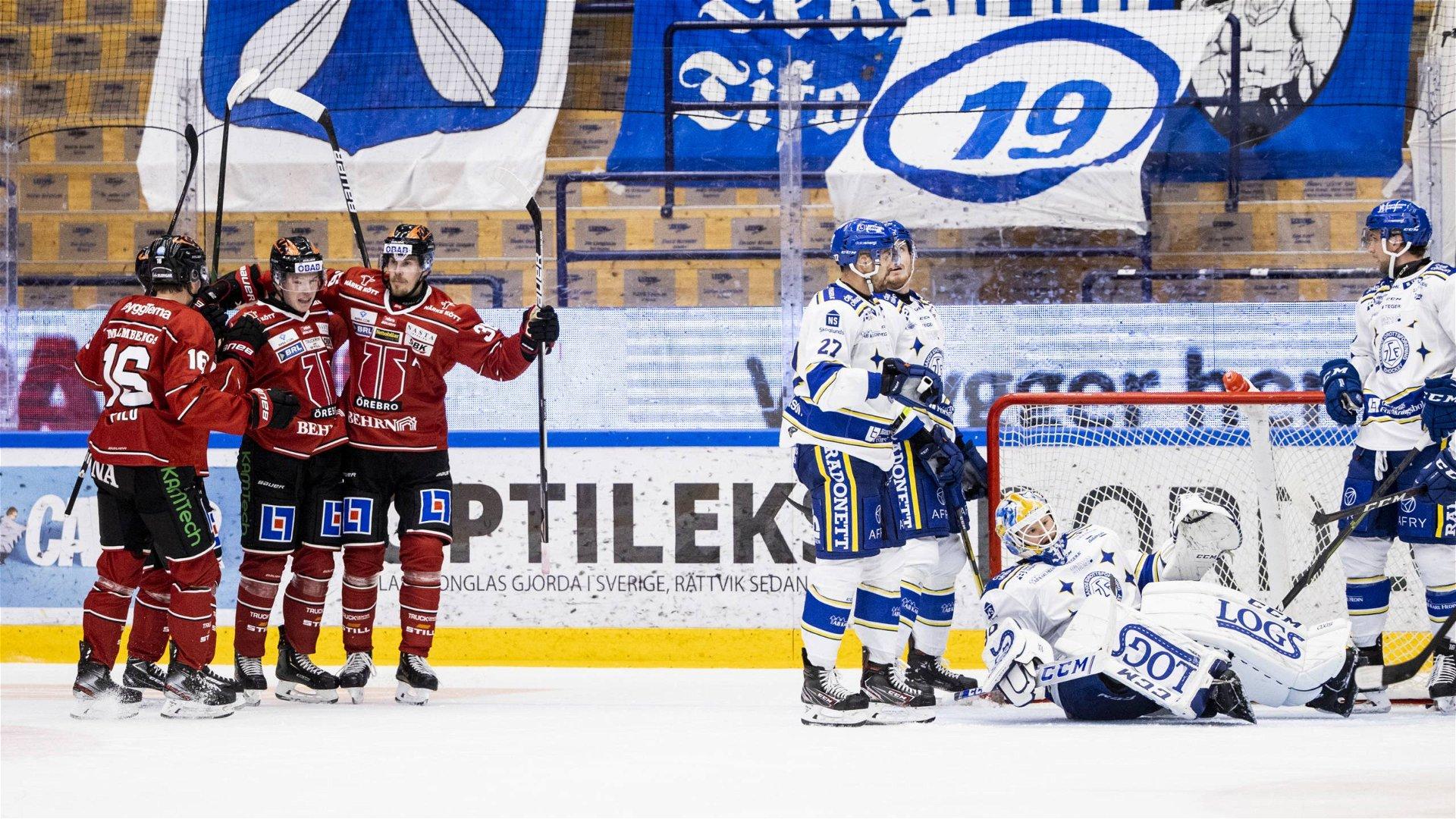 Linus Öbergs hattrick sänkte Leksand.