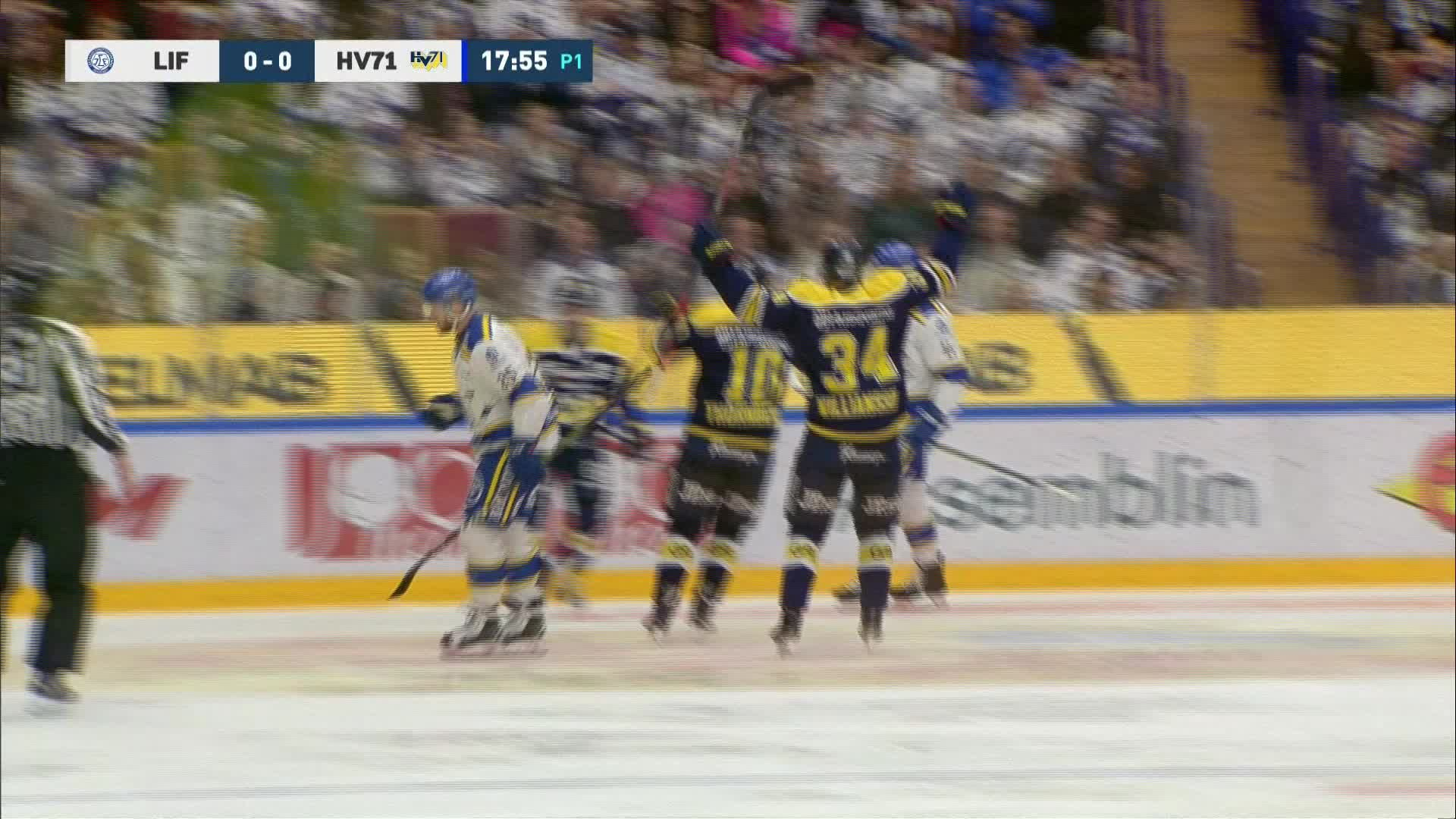 Leksands IF - HV71 0-1