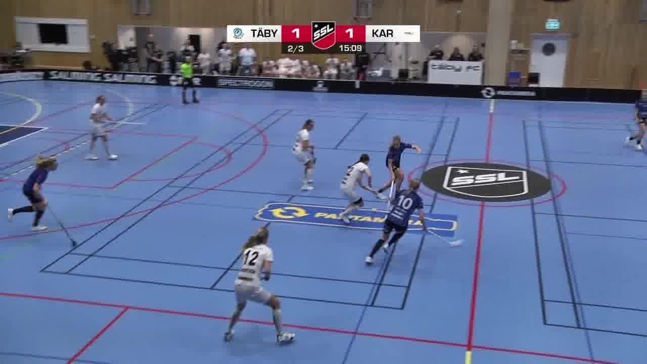 Highlights: Täby FC - Karlstad Innebandy
