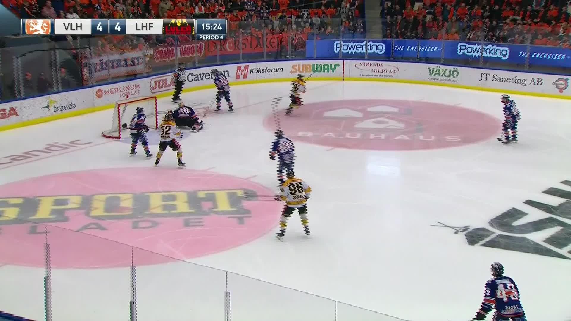 Växjö Lakers - Luleå Hockey 4-5
