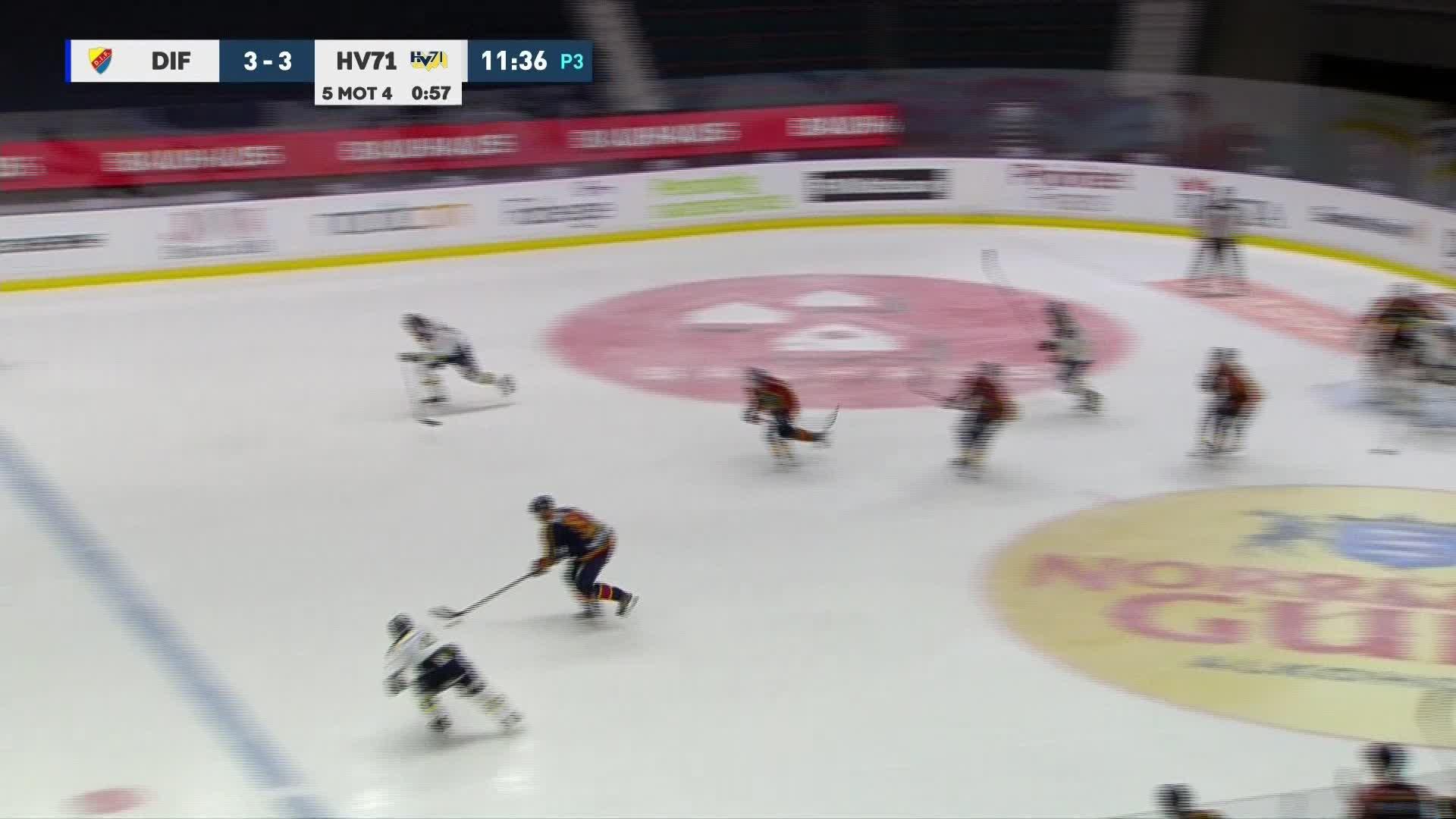 Djurgården Hockey - HV71 4-3