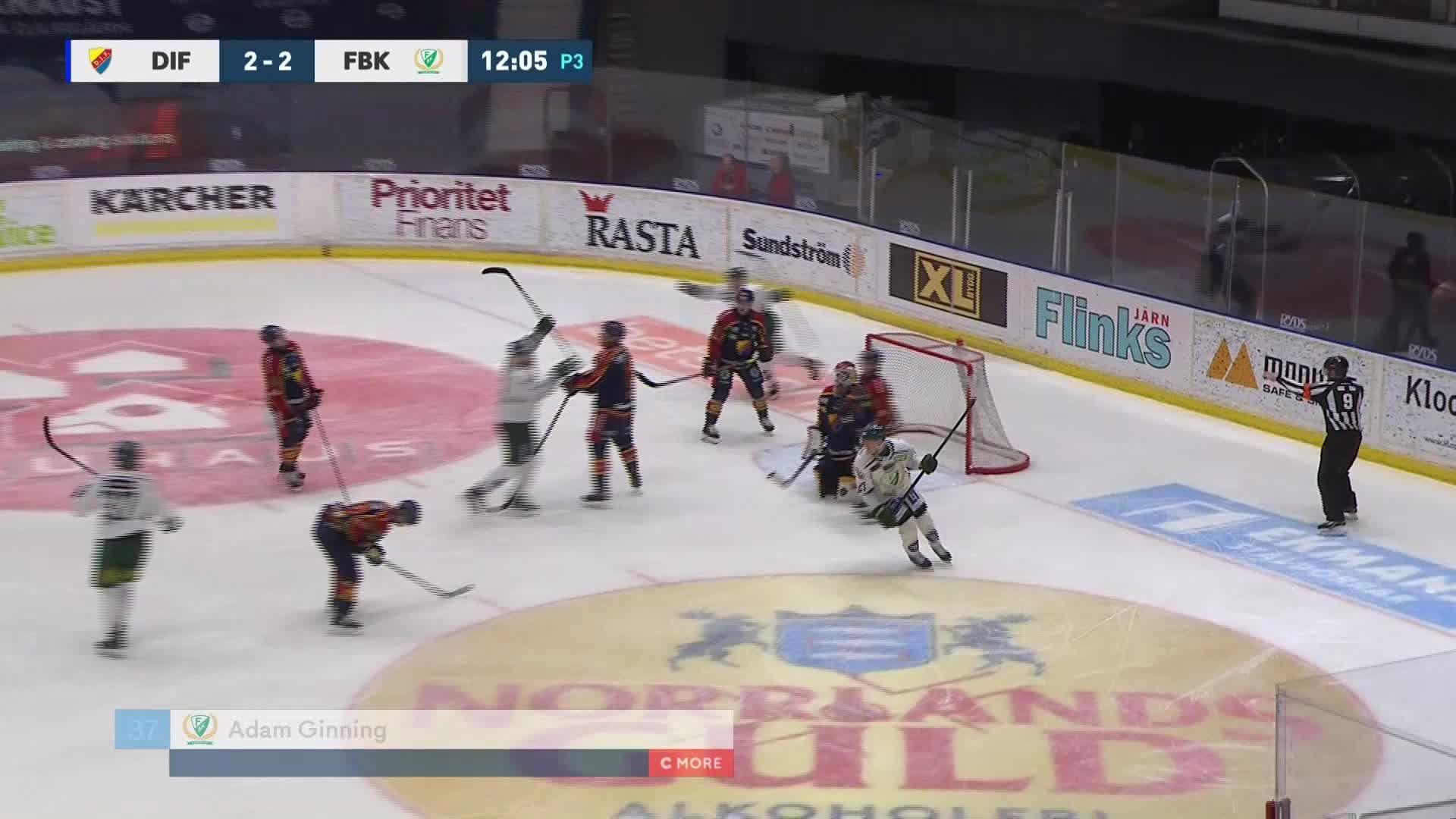 Djurgården Hockey - Färjestad BK 2-3