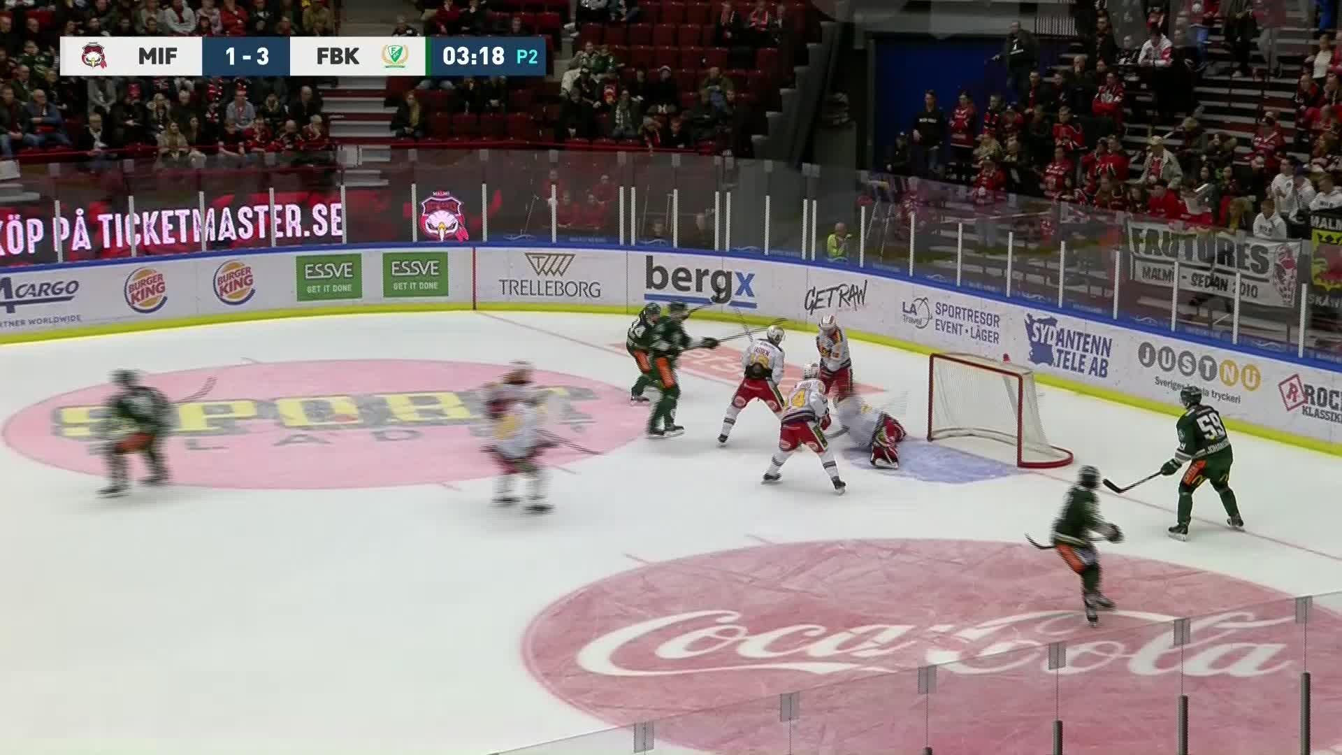 Malmö Redhawks - Färjestad BK 1-4