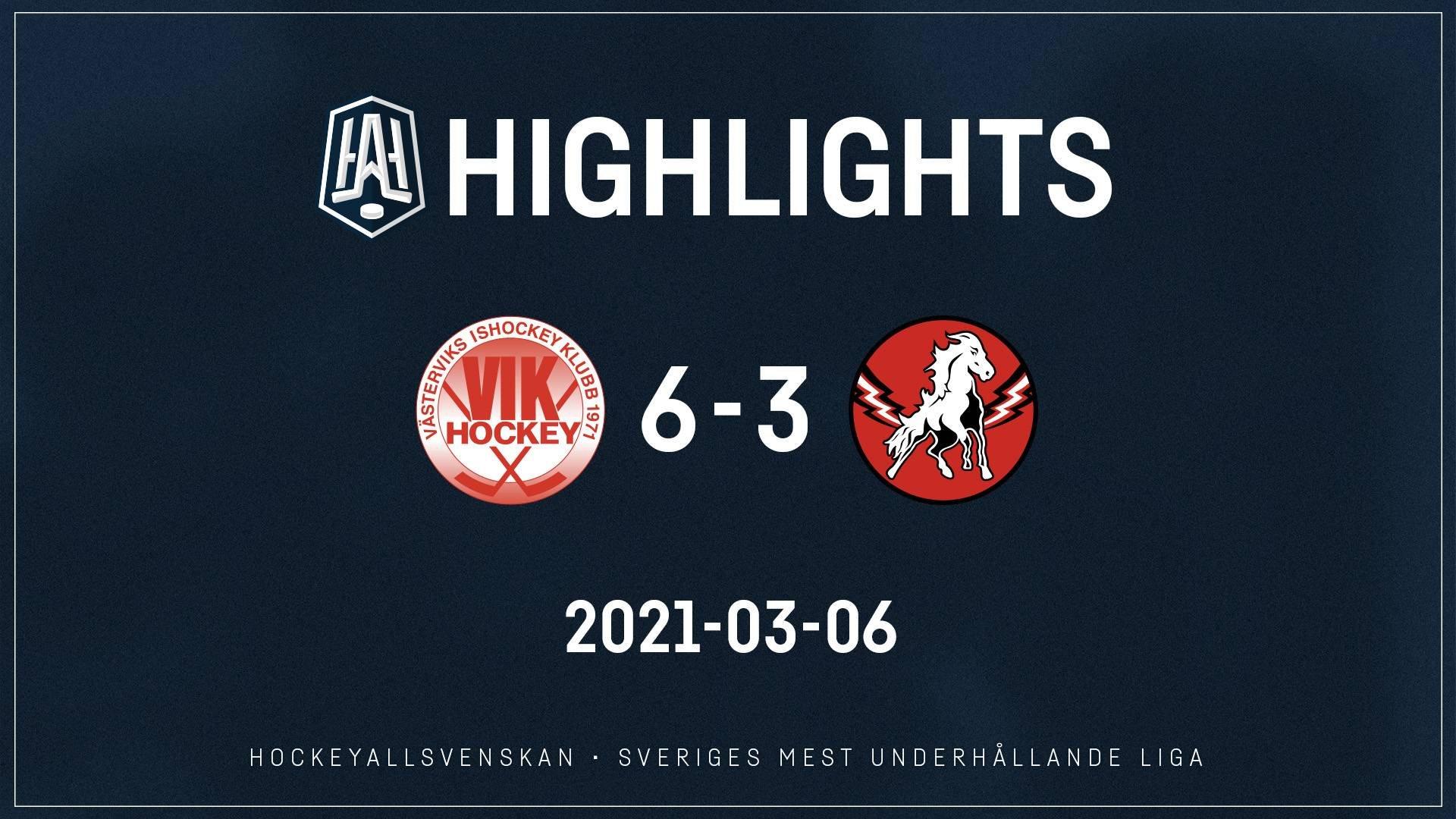 2021-03-06 Västervik - Vita Hästen 6-3