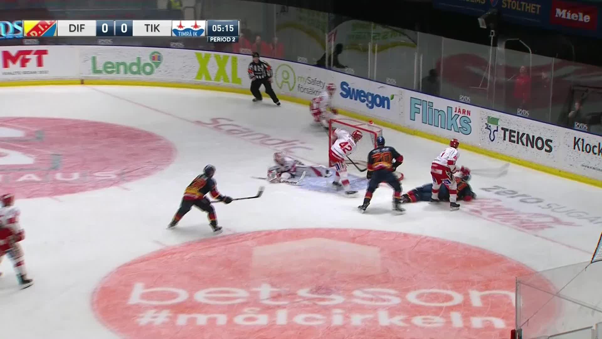 Djurgården Hockey - Timrå IK 1-0