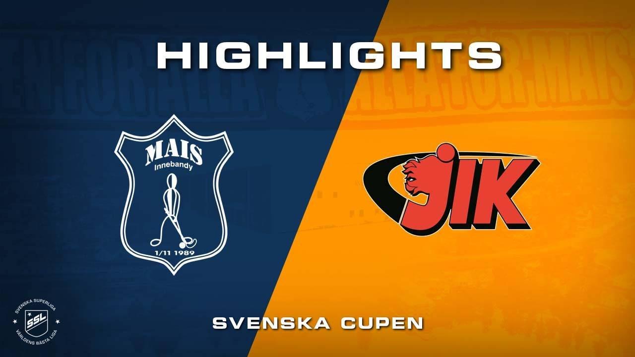 Highlights efter Mullsjö AIS-Jönköpings IK - Svenska Cupen