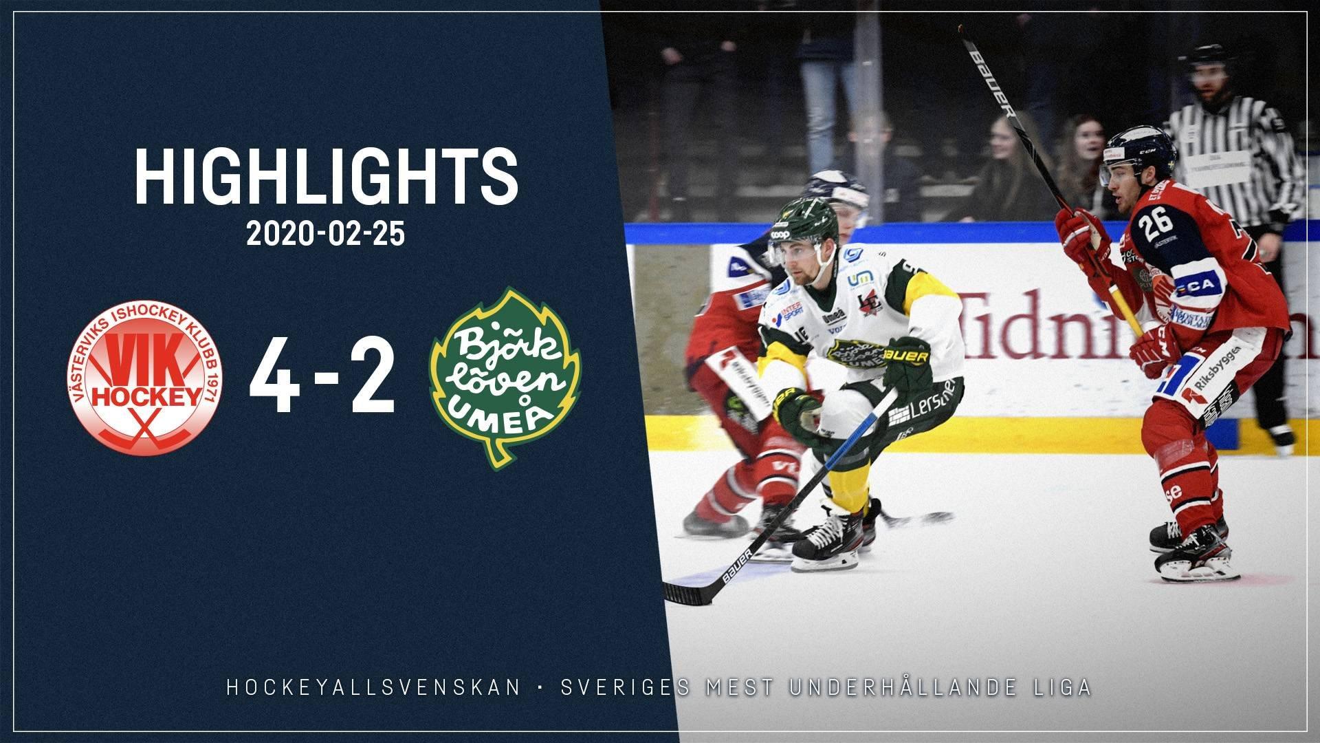 2020-02-25 Västervik - Björklöven 4-2