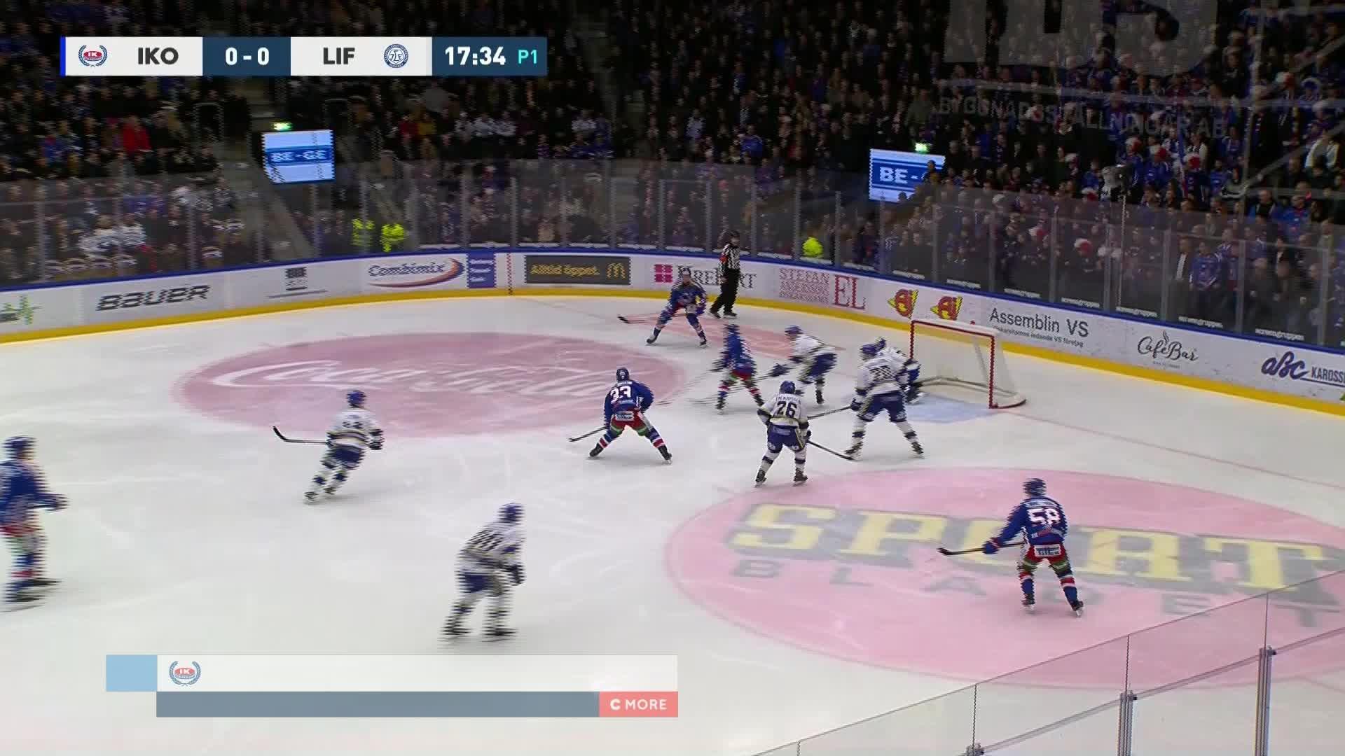 IK Oskarshamn - Leksands IF 1-0