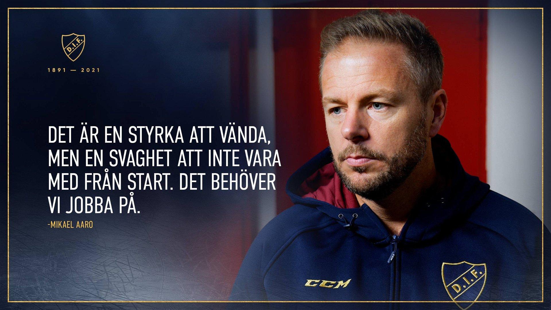 """Mikael Aaro: """"Starkt att vinna, även om det inte var vackert"""""""