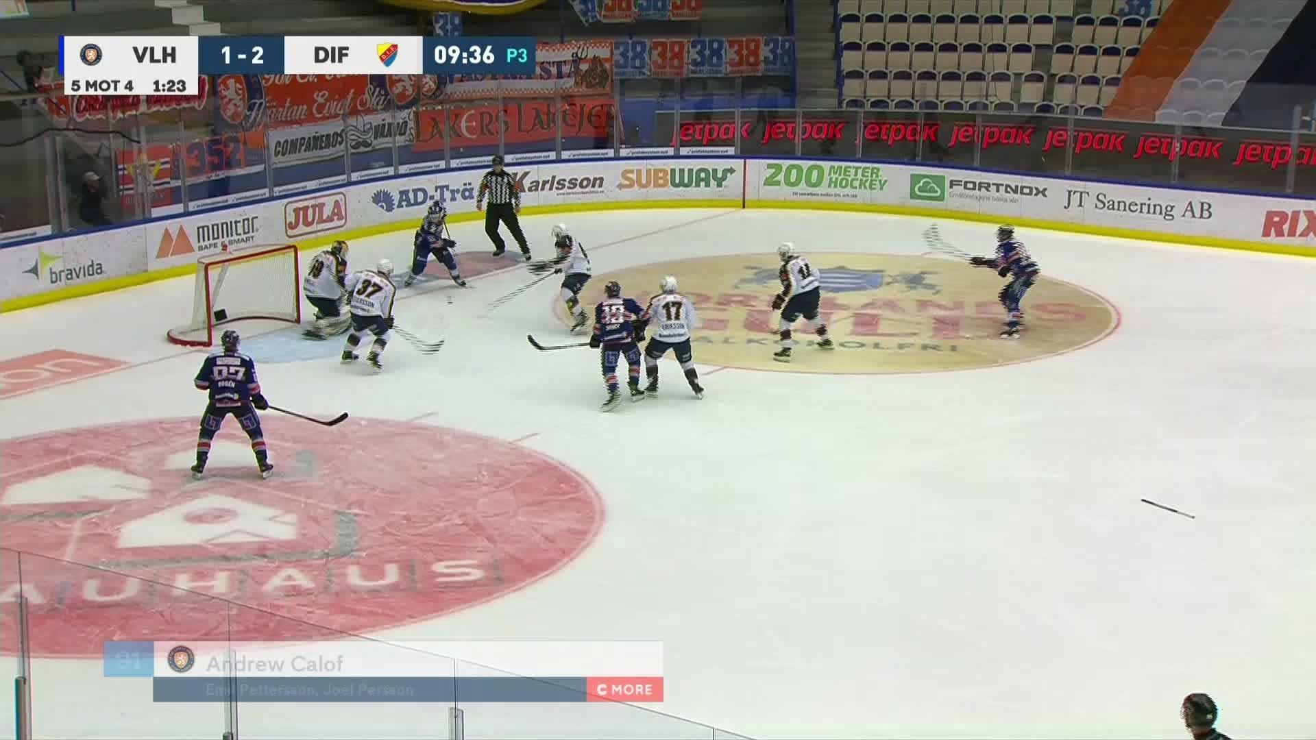 Växjö Lakers - Djurgården Hockey 2-2