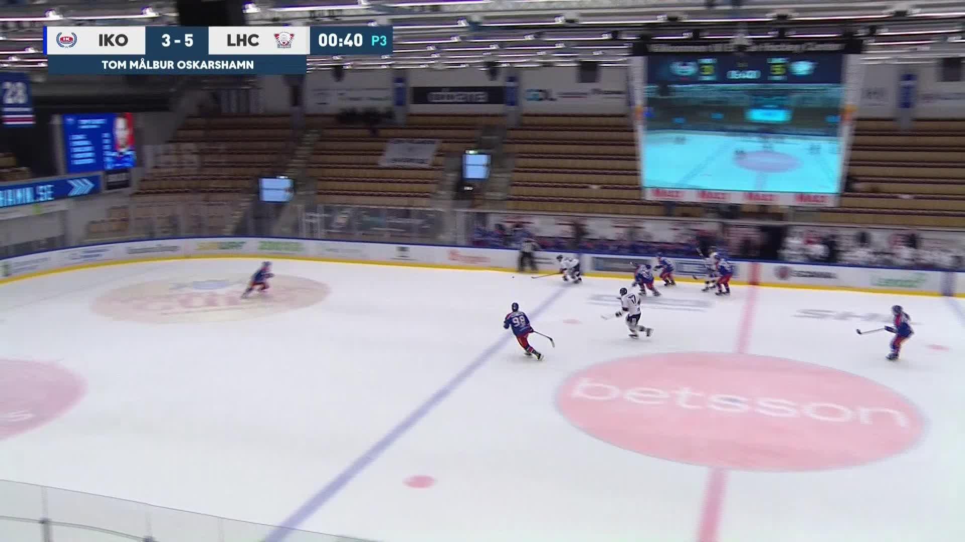 IK Oskarshamn - Linköping HC 3-6
